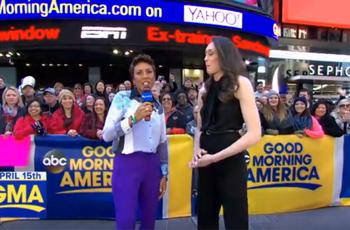 Breanna Stewart on Good Morning America
