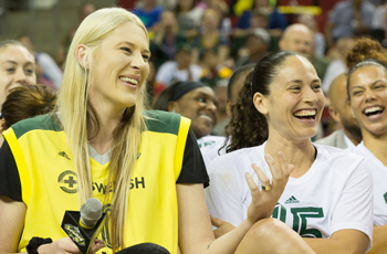 7/15 - Lauren Jackson Jersey Retirement