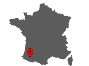 Map of Tarbes, France