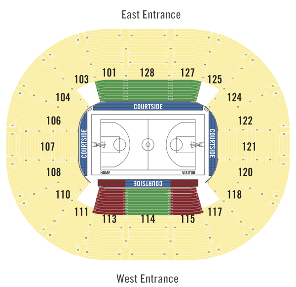 2018 Pac-12 Pricing Map